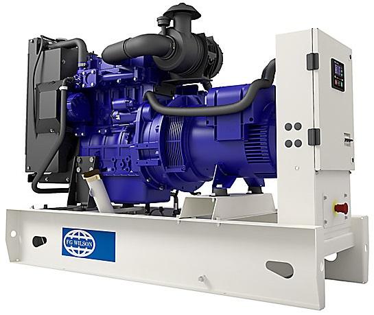 Трехфазный дизельный генератор FG WILSON P9,5-4 откр.