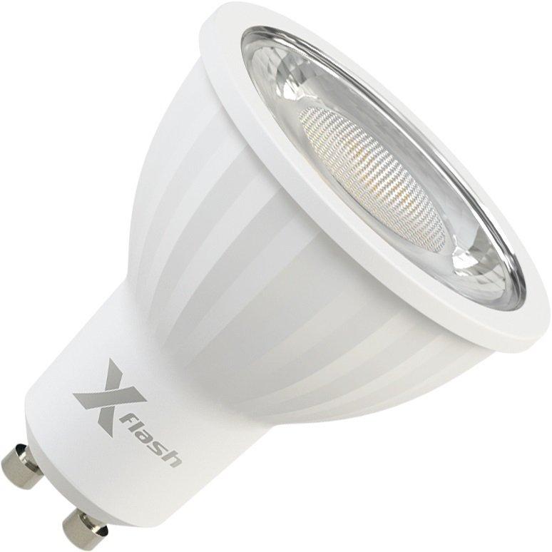 Светодиодная (LED) лампа X-flash XF-MR16D-P-GU10-8W-3000K-220V (47239)