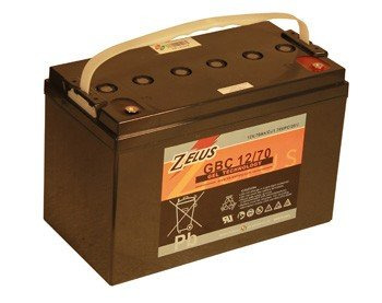 Тяговый аккумулятор B.B. Battery Zelus GBC 12/70