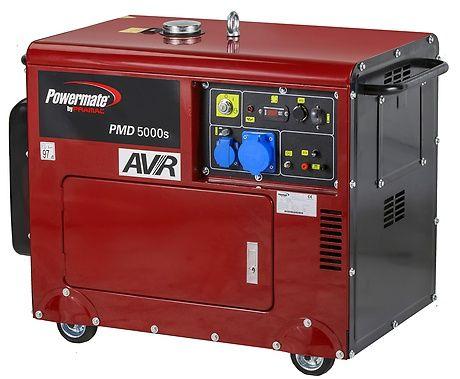 Дизельный генератор Pramac PMD5000s, 230V, 50Hz, #AVR,  Battery EC
