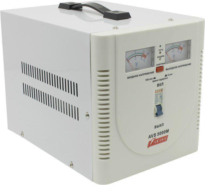 Однофазный стабилизатор напряжения POWERMAN AVS 5000M