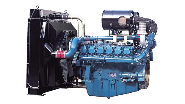 Дизельный двигатель Doosan P222FE для дизель-генераторных электростанций