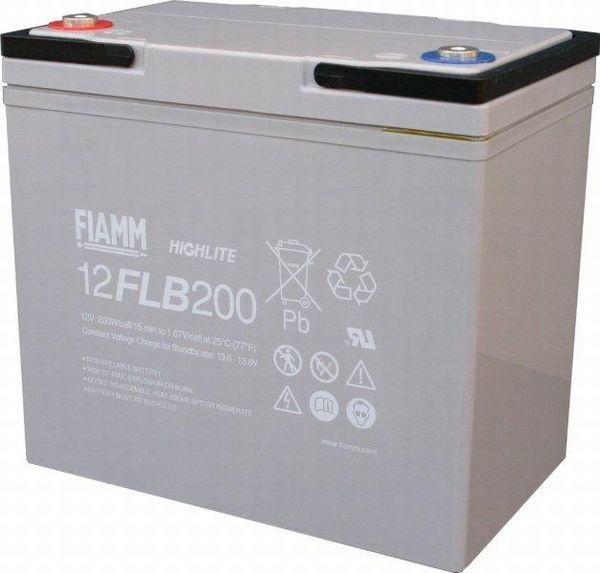 Аккумуляторная батарея FIAMM 12 FLB 200 P