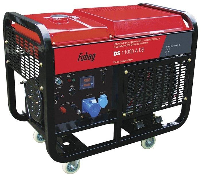 Дизельная электростанция (генератор) FUBAG DS 11000 A ES