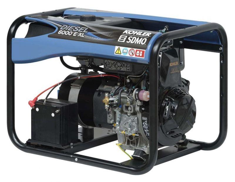 Однофазный дизельный генератор SDMO Diesel 6000 E XL C