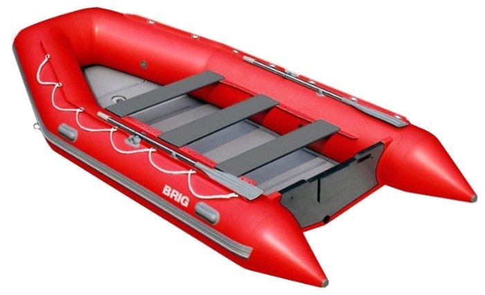 Лодка надувная BRIG B420HD серия Baltic