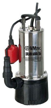 Дренажный насос VMtec DRAIN 6000/36