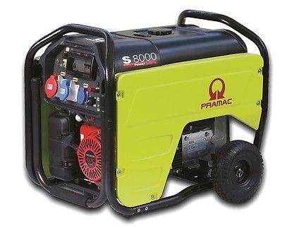 Бензиновый генератор Pramac  S8000, 400/230V, 50Hz #CONN #DPP