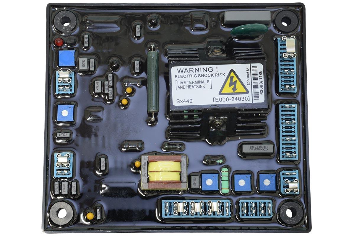 Регулятор напряжения TSS AVR SX440 ( EA440, ZL440D)