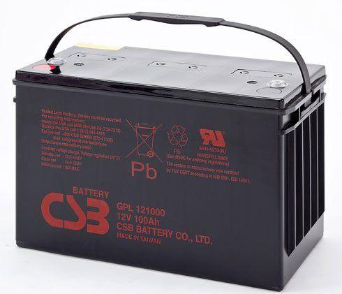 Аккумуляторная батарея CSB GPL 121000