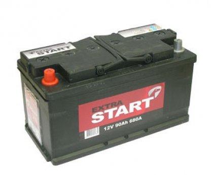 Аккумуляторная батарея Extra Start 90 6СТ-90N L+ (L5)