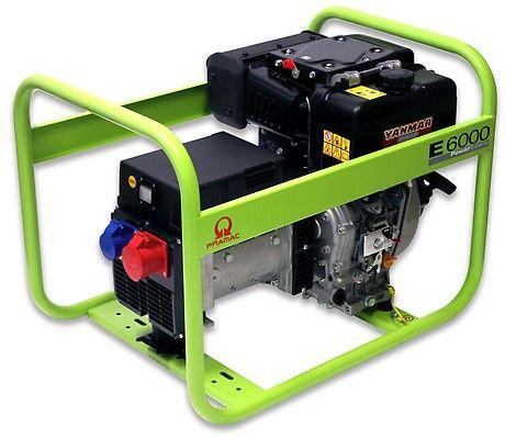 Дизельный генератор Pramac E6000, 400/230V, 50Hz