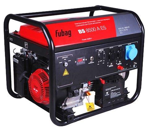 Бензиновая электростанция (генератор) FUBAG BS 8500 XD ES