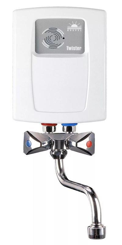 Электр. проточный водонагреватель  в комплекте  со сместителем Kospel EPS2-4,4