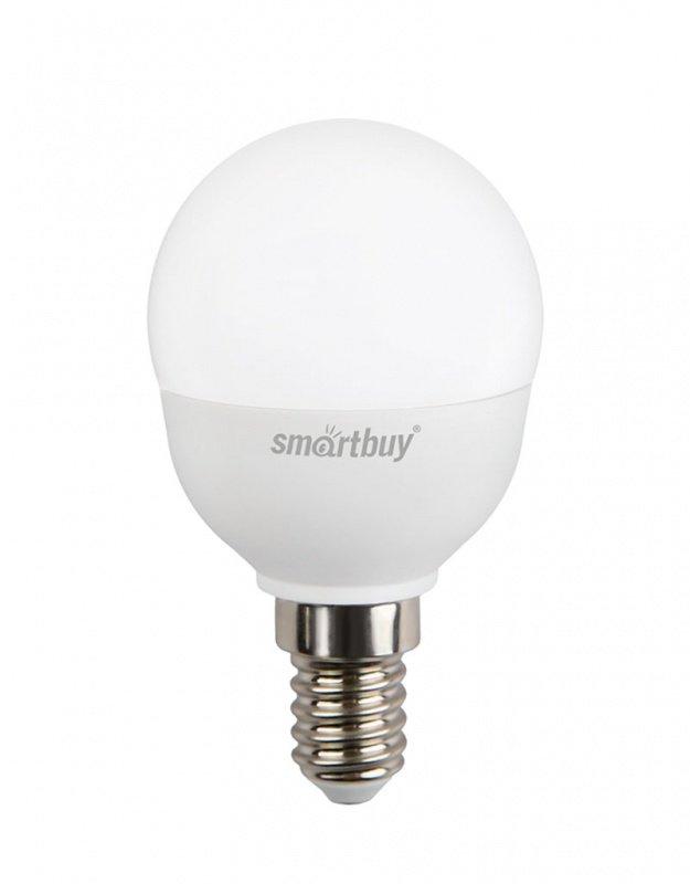 Светодиодная (LED) Лампа Smartbuy-P45-06W/3000/E14 (SBL-P45-06-30K-E14-A)