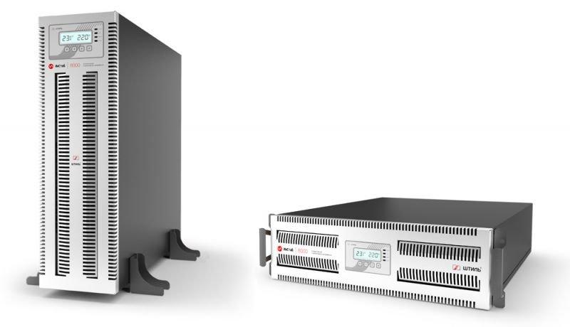 Однофазный стабилизатор переменного напряжения Штиль инверторный IS1108RT