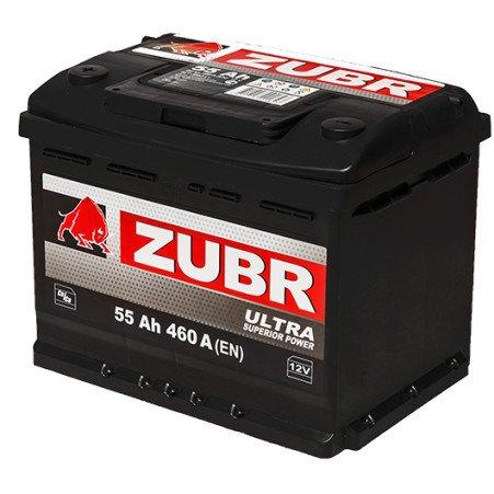Аккумуляторная батарея ZUBR Ultra 55 R+