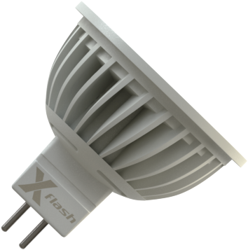 Светодиодная (LED) лампа X-Flash SPOTLIGHT MR16 GU5.3 4W(4вт),белый свет 4000K,световой поток 310лм, 220V(в) (44610)