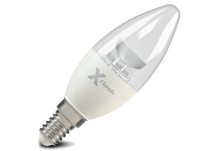 Светодиодная (LED) лампа X-flash XF-E14-CC-5.5W-3000K-220V (47017)