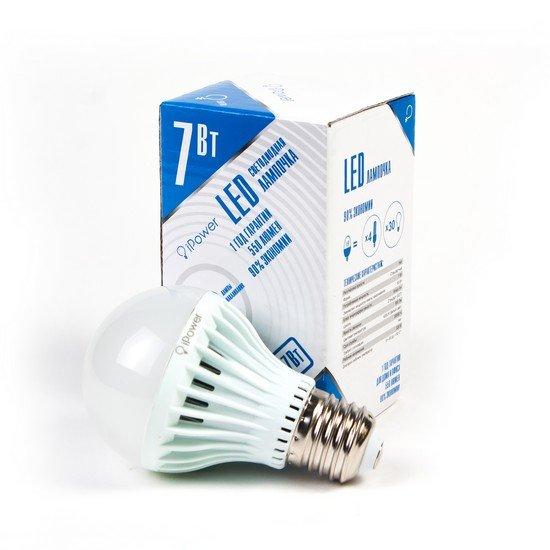 LED Лампа iPower IPHB7W4000KE27