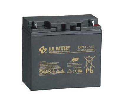 Аккумуляторная батарея B.B.Battery BPL 17-12