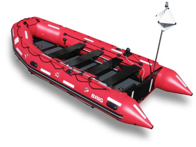 Лодка надувная BRIG C8 серия Rescue
