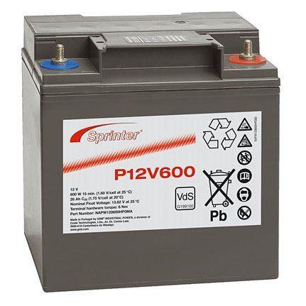 Аккумуляторная батарея SPRINTER P 12V 600