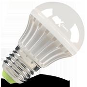 Светодиодная (LED) лампа X-Flash Bulb E27 BMC P 4W(4вт), белый свет 4000K, 220V (46201)
