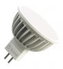 Светодиодная (LED) лампа Ecomir 5W(5вт), GU5.3, 220V, желтый свет 3000к, световой поток 350лм (43125)
