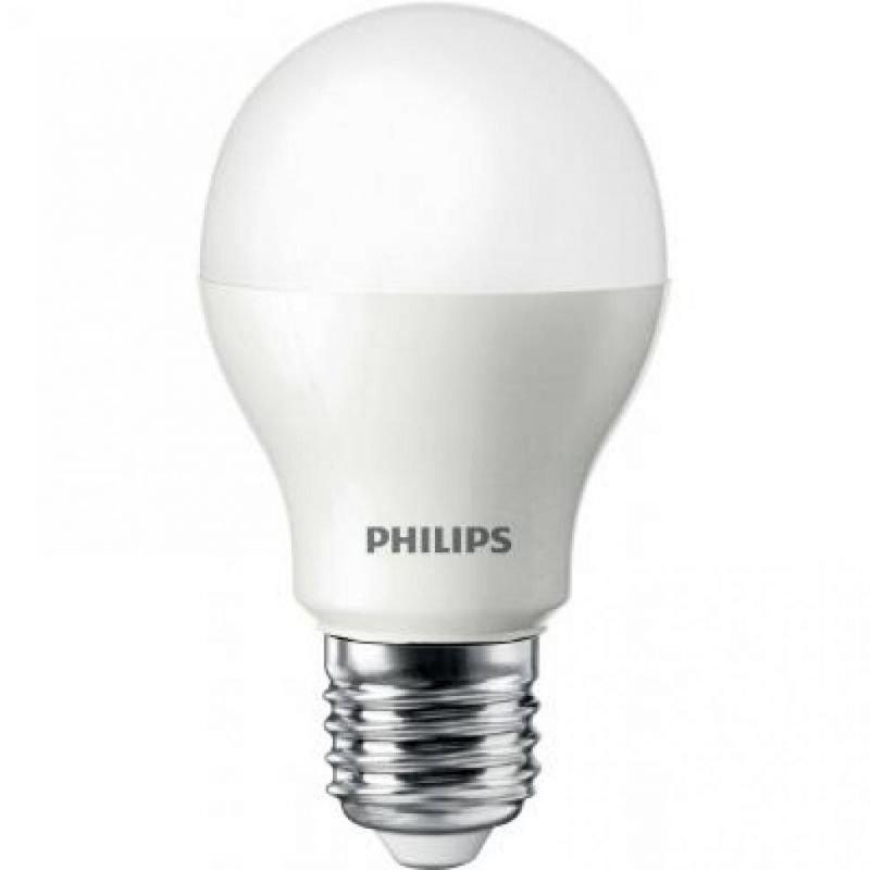 Светодиодная (LED) лампа Philips LEDBulb 7.5-60W E27 3000K 230V A55 (PF)