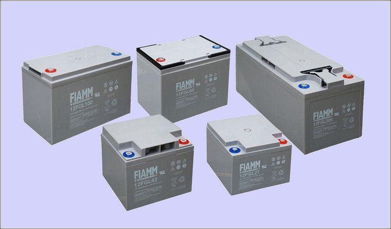 Аккумуляторная батарея FIAMM 12FGL205