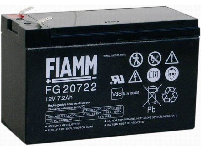 Аккумуляторная батарея FIAMM FG 20722
