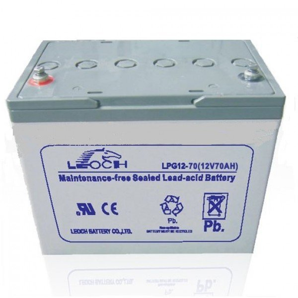 Аккумуляторная батарея Leoch Battery LPG 12-70H