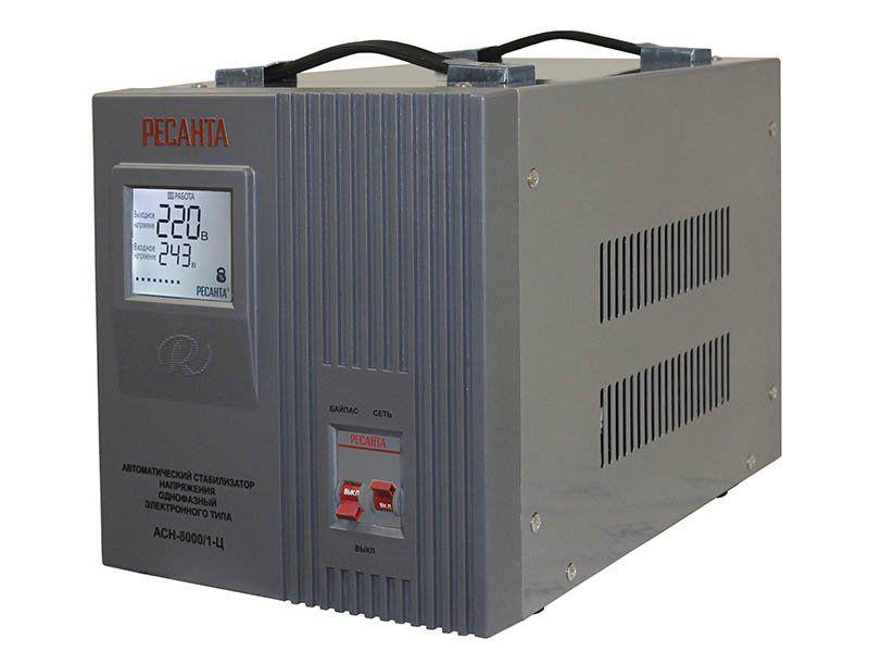 Стабилизатор напряжения Ресанта ACH-8000/1-Ц