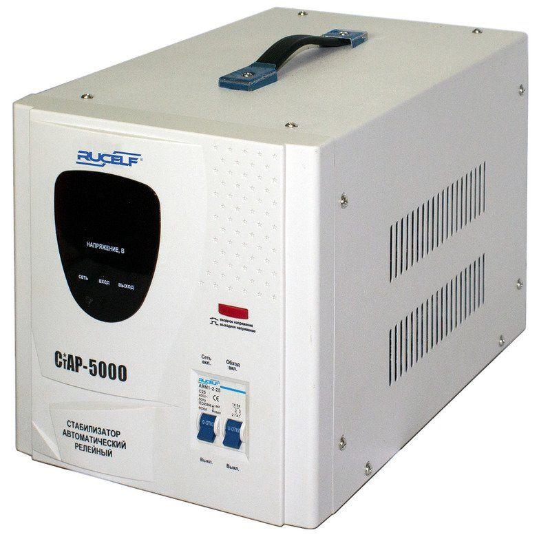 Стабилизатор напряжения RUCELF СтАР-5000