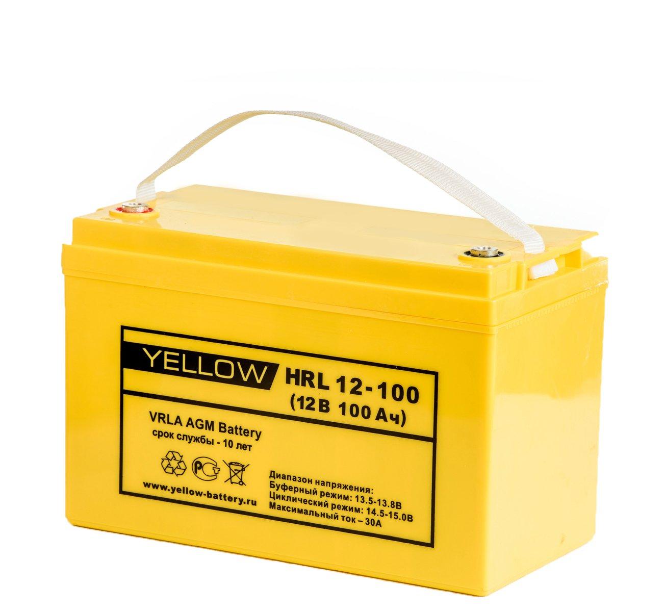 АКБ Yellow HRL 12-100