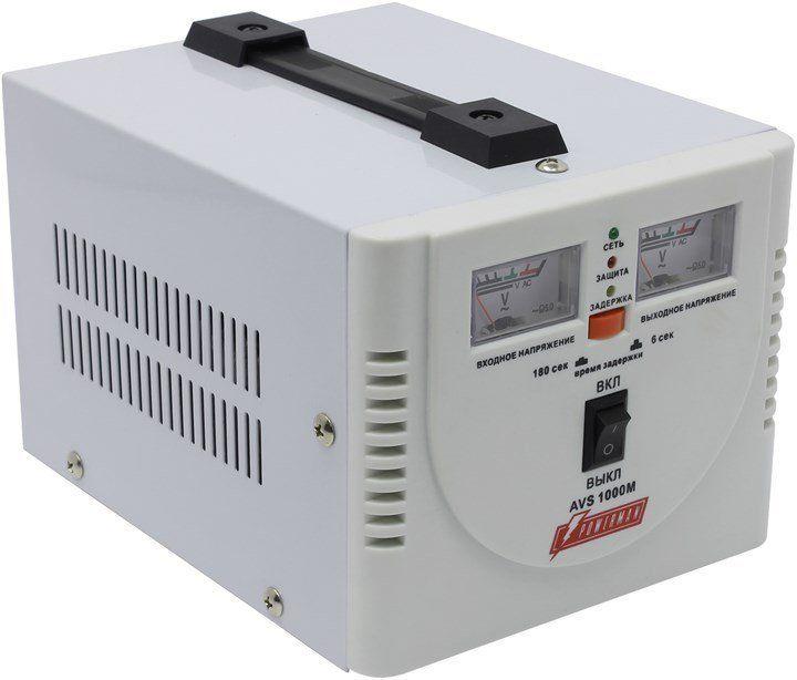 Однофазный стабилизатор напряжения POWERMAN AVS 1000M