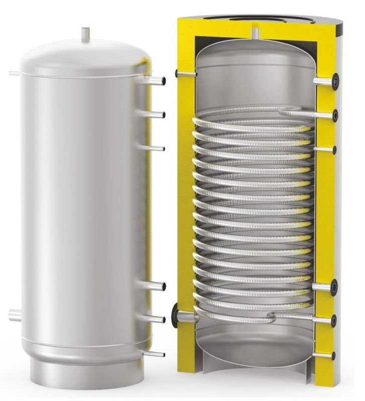 Бойлер косвенного нагрева для работы с тепловым насосом  S-Tank HP-ENAMEL 1200