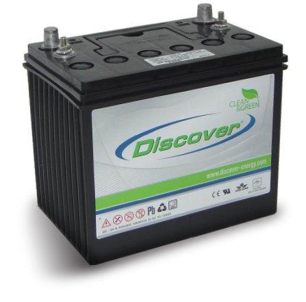 Тяговая аккумуляторная батарея Discover EV12A-B