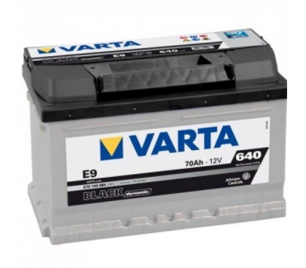 Аккумуляторная батарея Varta Black Dynamic 70Ач EN640А о.п. (278х175х175, B13) E9 / 570 144 064