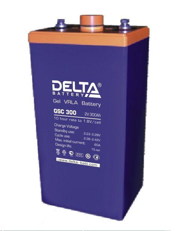 Аккумуляторная батарея DELTA GSC 400