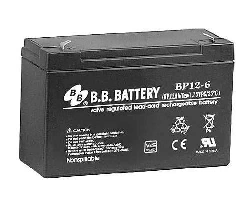 Аккумуляторная батарея B.B.Battery BP 12-6