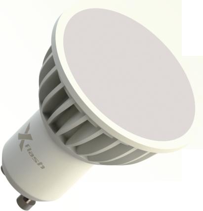 Светодиодная (LED) лампа X-Flash SPOTLIGHT MR16 GU10 4W(4вт),белый свет 4000K,световой поток 310лм,220V (44634)