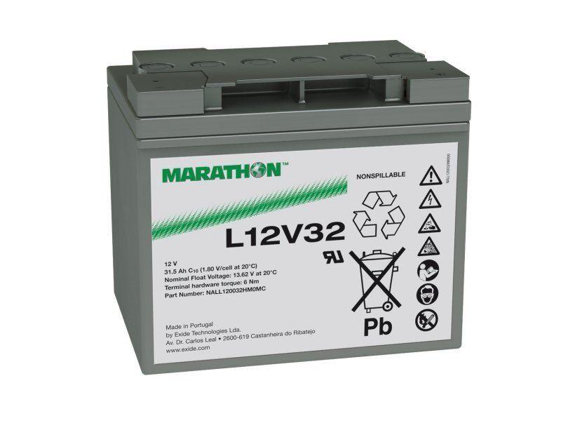Аккумуляторная батарея MARATHON L 12V 32