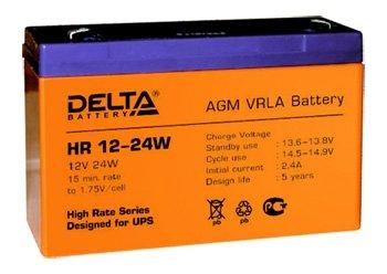 Аккумуляторная батарея DELTA HR 12-24W
