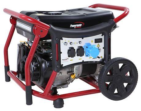 Бензиновый генератор Pramac  WX6200ES, 230V, 50Hz #AVR #Wheel kit