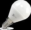 Светодиодная (LED) лампа X-Flash Globe E14 G45 P 5W(5вт),белый свет 4000K,световой поток 400лм 12V (45921)