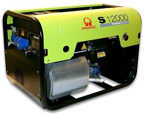 Бензиновый генератор Pramac  S12000, 230V, 50Hz #CONN