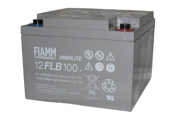 Аккумуляторная батарея FIAMM 12 FLB 100 P