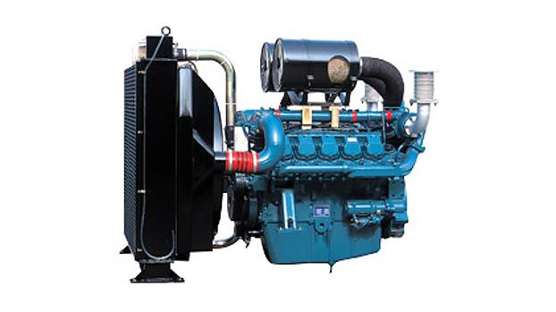 Дизельный двигатель Doosan P180FE для дизель-генераторных электростанций